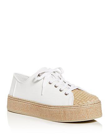 VINCE CAMUTO - Women's Calitrie Platform Jute-Toe Sneakers