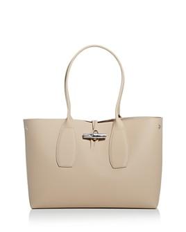 Longchamp - Roseau Medium Leather Tote