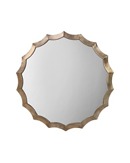 Bloomingdale's - Round Scalloped Mirror