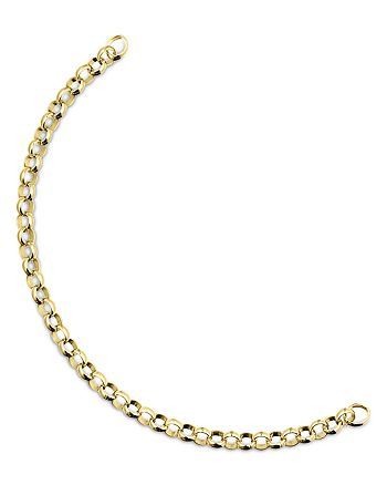 TOUS - 18K Yellow Gold-Plated Sterling Silver Hold Chain Bracelet