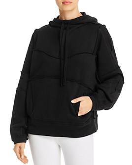 Alo Yoga - Dimension Raw-Edge Hooded Sweatshirt