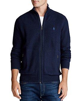 Polo Ralph Lauren - Zip-Front Mockneck Sweater