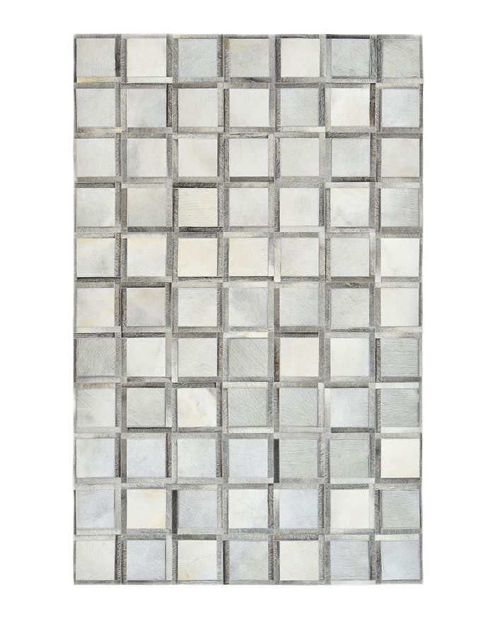 Timeless Rug Designs - Leon Cowhide S3077 Area Rug, 8' x 10' - 100% Exclusive