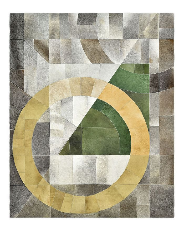 Timeless Rug Designs - Lenna Cowhide S3125 Area Rug, 9' x 12' - 100% Exclusive