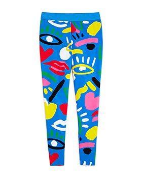 Stella McCartney - Girls' Graphic Print Leggings - Little Kid, Big Kid
