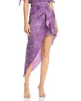 Art Dealer - Emma Asymmetric Wrap Skirt