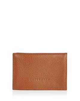Longchamp - Le Foulonné Leather Card Case