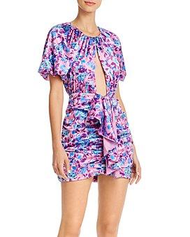 For Love & Lemons - Tahiti Cutout Mini Dress