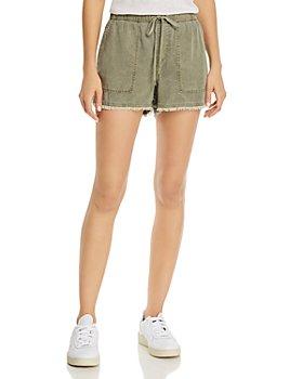 Bella Dahl - Frayed Drawstring Shorts