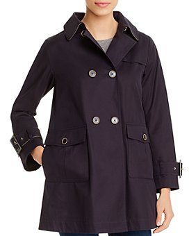 Herno - Monogrammed Double-Breasted Trench Coat