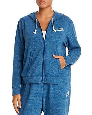 Nike Plus Gym Vintage Zip Hoodie