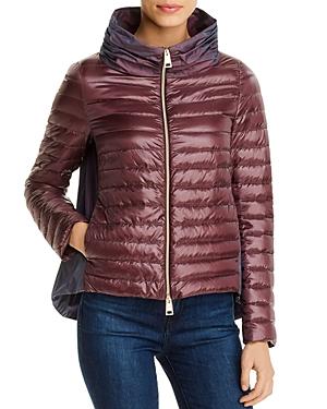 Herno Funnel Collar Down Coat-Women