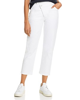 7 For All Mankind - Asymmetric Ankle Jeans in Prince St