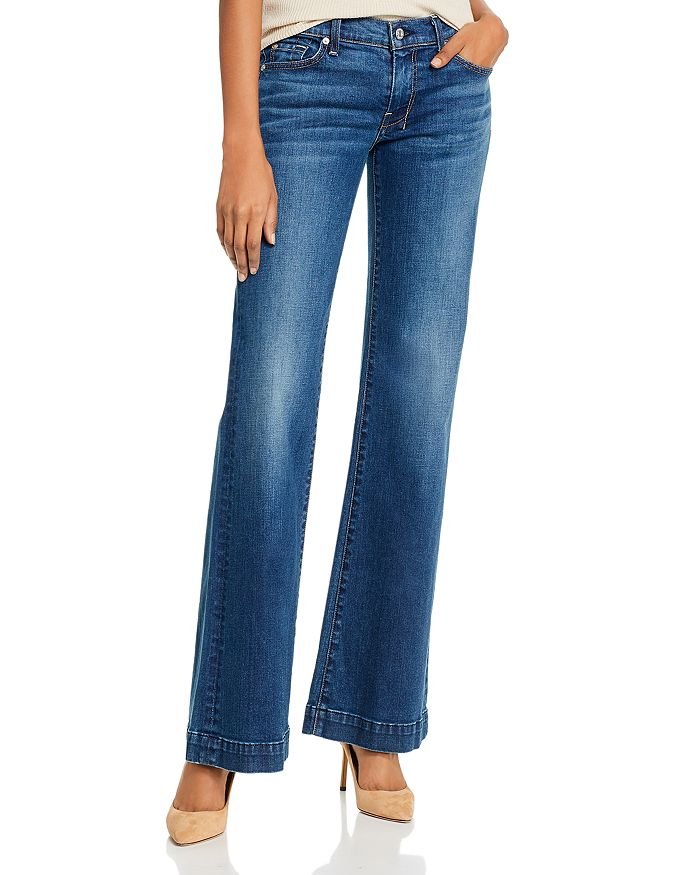 7 For All Mankind - Reissue Dojo Low-Rise Flared Jeans