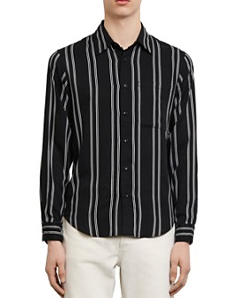 Sandro - New Flow Striped Slim Fit Button-Down Shirt