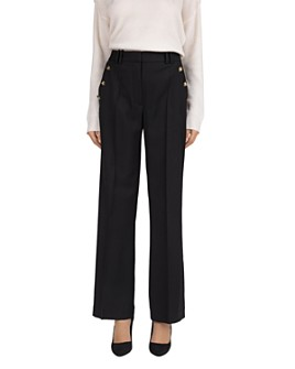 The Kooples - Resort Button-Detail Pants