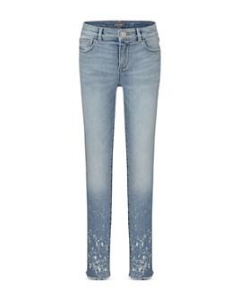 DL1961 - Girls' Chloe Paint-Splatter Skinny Jeans - Little Kid