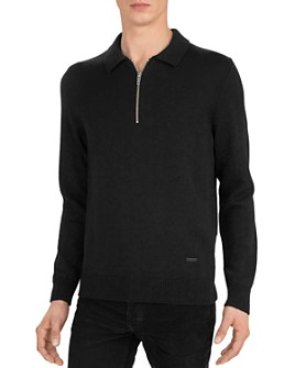 The Kooples - Merino Half-Zip Sweater