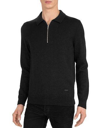 The Kooples - Merino Half-Zip Sweater