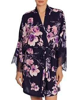 Midnight Bakery - Floral Wrapper Robe