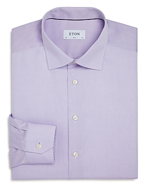 Eton Contemporary Fit Signature Twill Dress Shirt