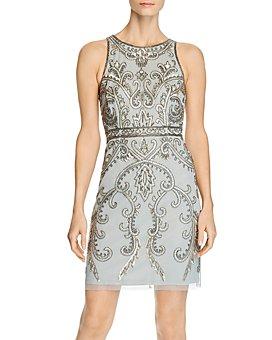 Adrianna Papell - Beaded Sheath Dress