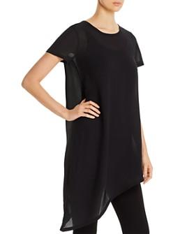 Eileen Fisher - Asymmetric-Hem Tunic Top
