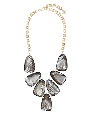 Harlow Gray Illusion Statement Necklace, 22-Jewelry & Accessories