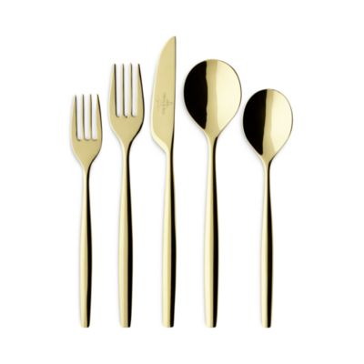 Wedgwood Stainless Notting Hill 5-Piece Flatware Place Setting Service for 1