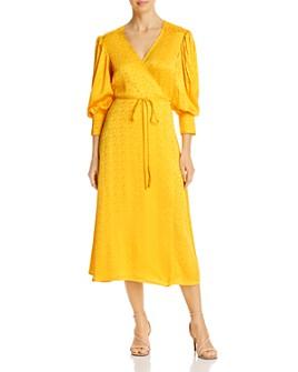 Andamane - Deva Tonal-Print Wrap Dress