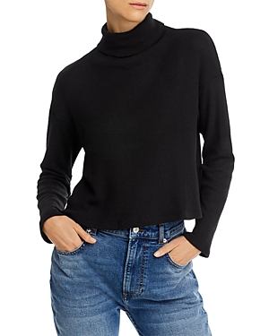 Enza Costa Sweaters BOXY TURTLENECK SWEATER