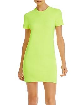 Helmut Lang - Bodycon Mini T-Shirt Dress