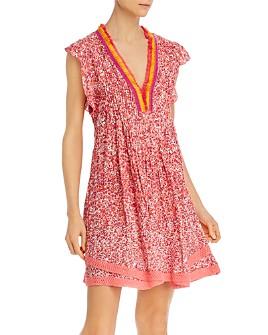 Poupette St. Barth - Sasha Lace-Trimmed Mini Dress - 100% Exclusive