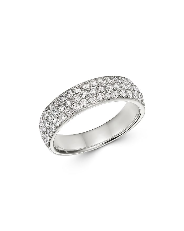 Bloomingdale's - Pavé Diamond Band in 14K White Gold, 1.0 ct. t.w. - 100% Exclusive