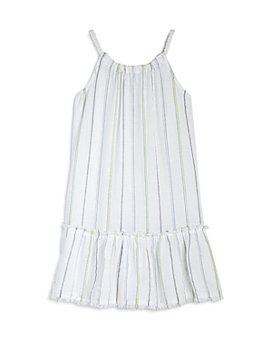 Bella Dahl - Girls' Frayed Ruffle Sundress