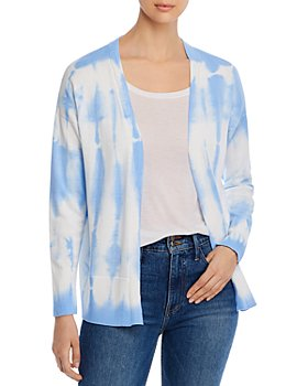 Design History - Tie-Dyed Open-Front Cardigan