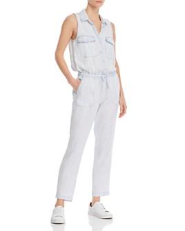 Bella Dahl - Sleeveless Button Front Jumpsuit