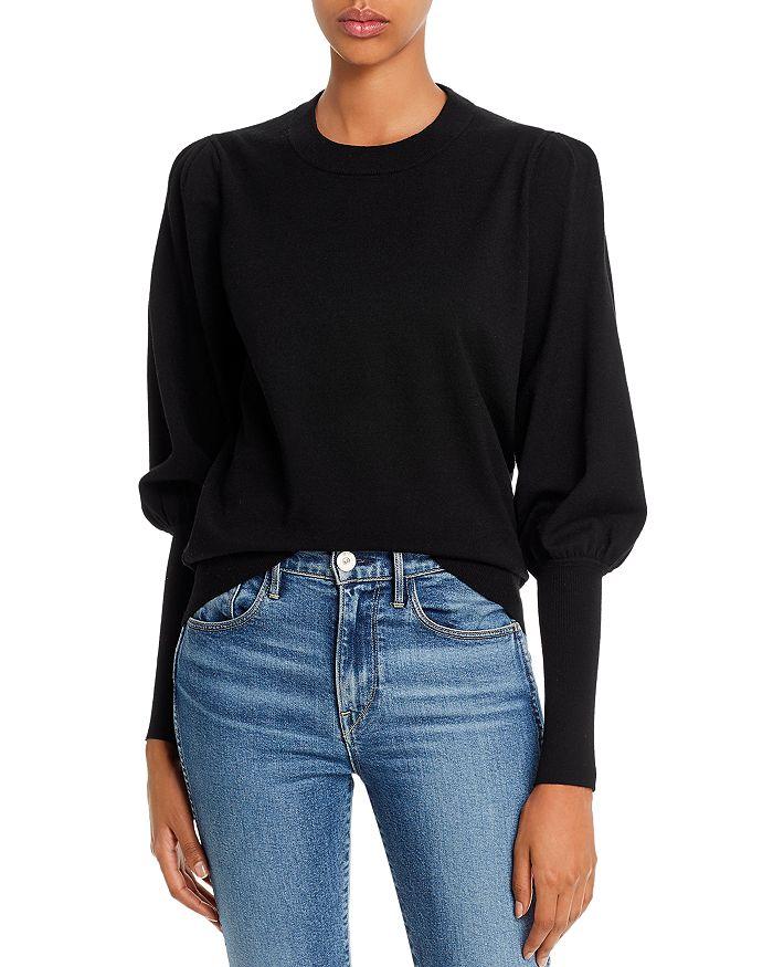 Minnie Rose - Bishop-Sleeve Sweater