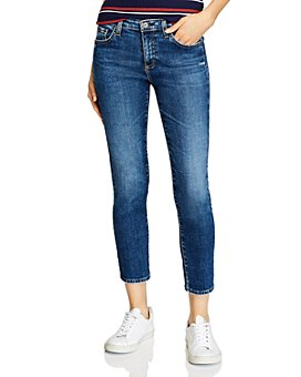 AG - Prima Ankle Skinny Jeans in 10 Years Aliance