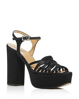 MARC JACOBS - Women's The Gram Sandal Platform Block-Heel Sandals