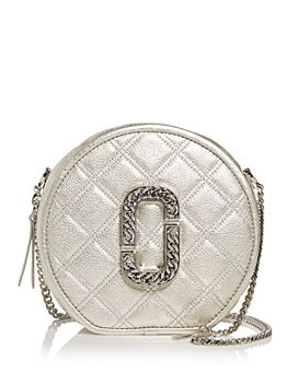 MARC JACOBS - Round Quilted Leather Crossbody