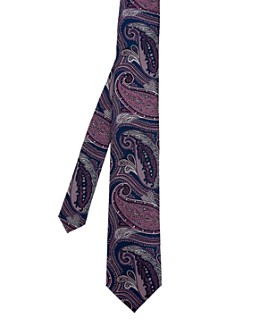Ted Baker - Silk Paisley Print Classic Tie