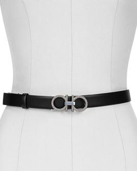 Salvatore Ferragamo - Women's New Gancini Leather Belt