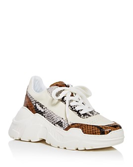 Joshua Sanders - Women's Zenith Low-Top Platform Sneakers