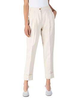 ATM Anthony Thomas Melillo - Linen & Cotton Tailored Pants