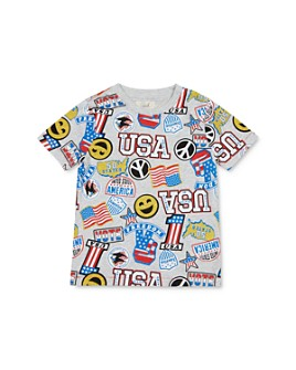 Peek Kids - Boys' Luca USA Celebration Tee - Little Kid, Big Kid
