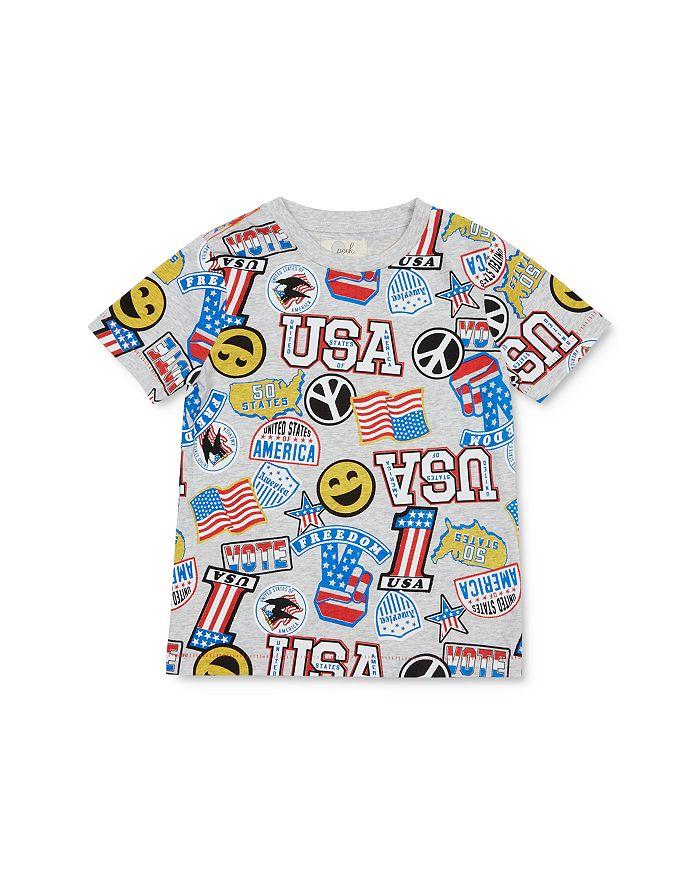 Peek Kids - Boys' Luca USA Celebration Tee - Little Kid, Big Kid