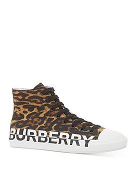 Burberry - Men's Larkall Animal High-Top Sneakers