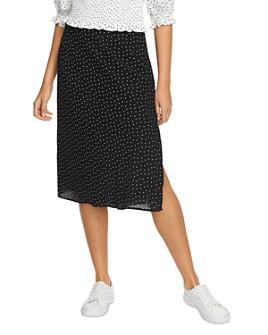 1.STATE - Dot-Print Skirt