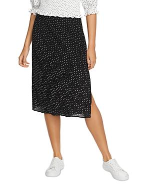 Image of 1.state Dot Print Skirt